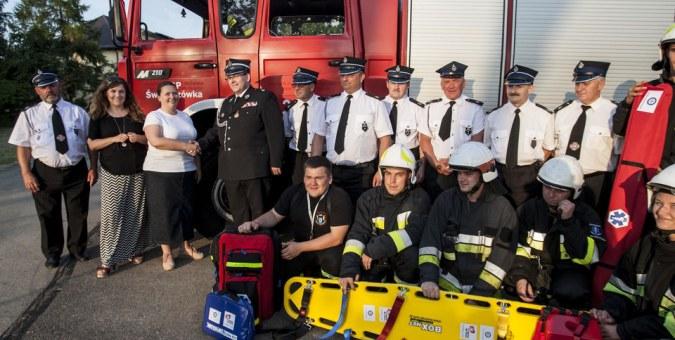 Wielka akcja na rzecz strażaków z OSP