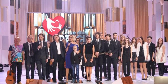 """Pierwszy wielki koncert charytatywny """"Serce dla Dzieci"""" na antenie TVP"""